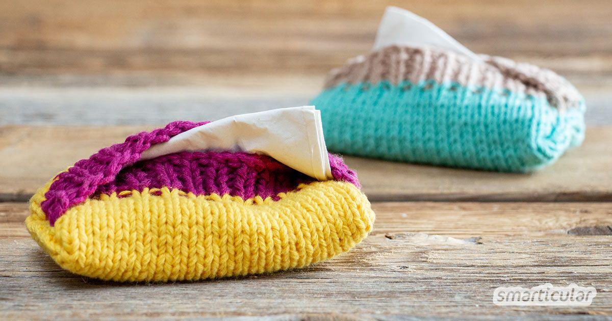 Photo of TaTüTa! Taschentaschentaschen aus Wollfetzen gestrickt