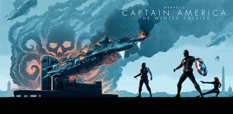 The Phase 2 Marvel Movies Look Better Than Ever in This Stunning Blu-ray Art