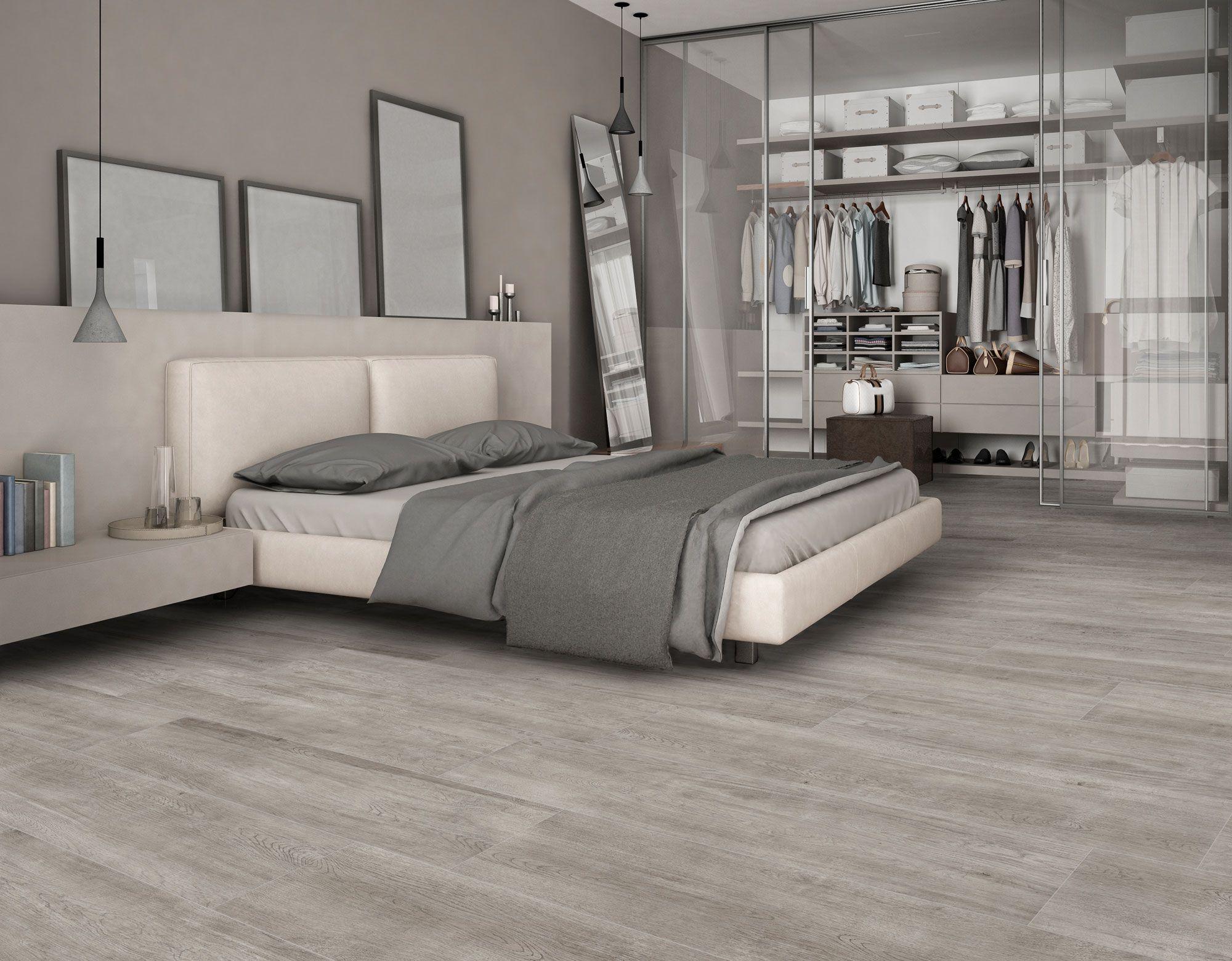 Ceramic Woods For Nordic Style Bedrooms Maderas Ceramicas Para Dormitorios De Estilo Nordico Dormitorios Ceramicas Para Dormitorios Apartamento Industrial