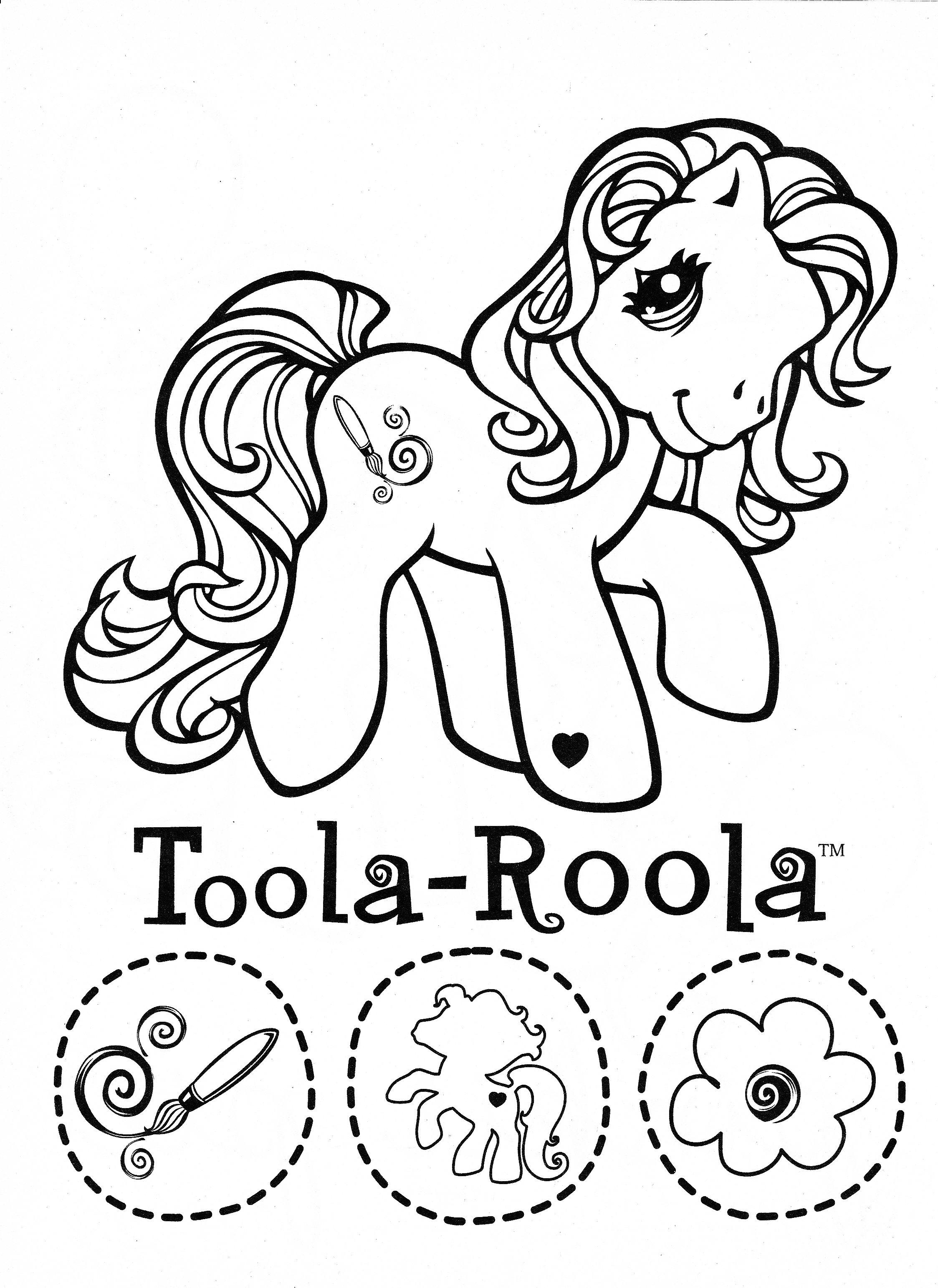 Impressionnant Image à Colorier My Little Pony