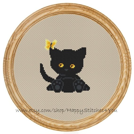 Included In The Pdf File Black White Cross Stitch Chart With