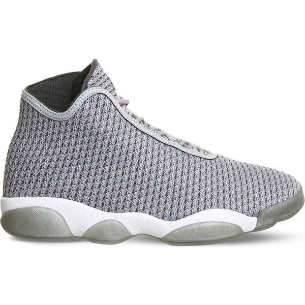 NIKE Jordan Horizon woven mesh trainers ($165) ❤ liked on Polyvore  featuring shoes,