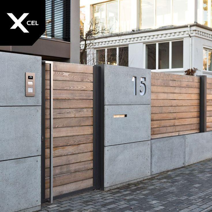 9 Wealthy Hacks: Moderner Zaunfleck mit vertikalem Zaun zum Aufhängen … …