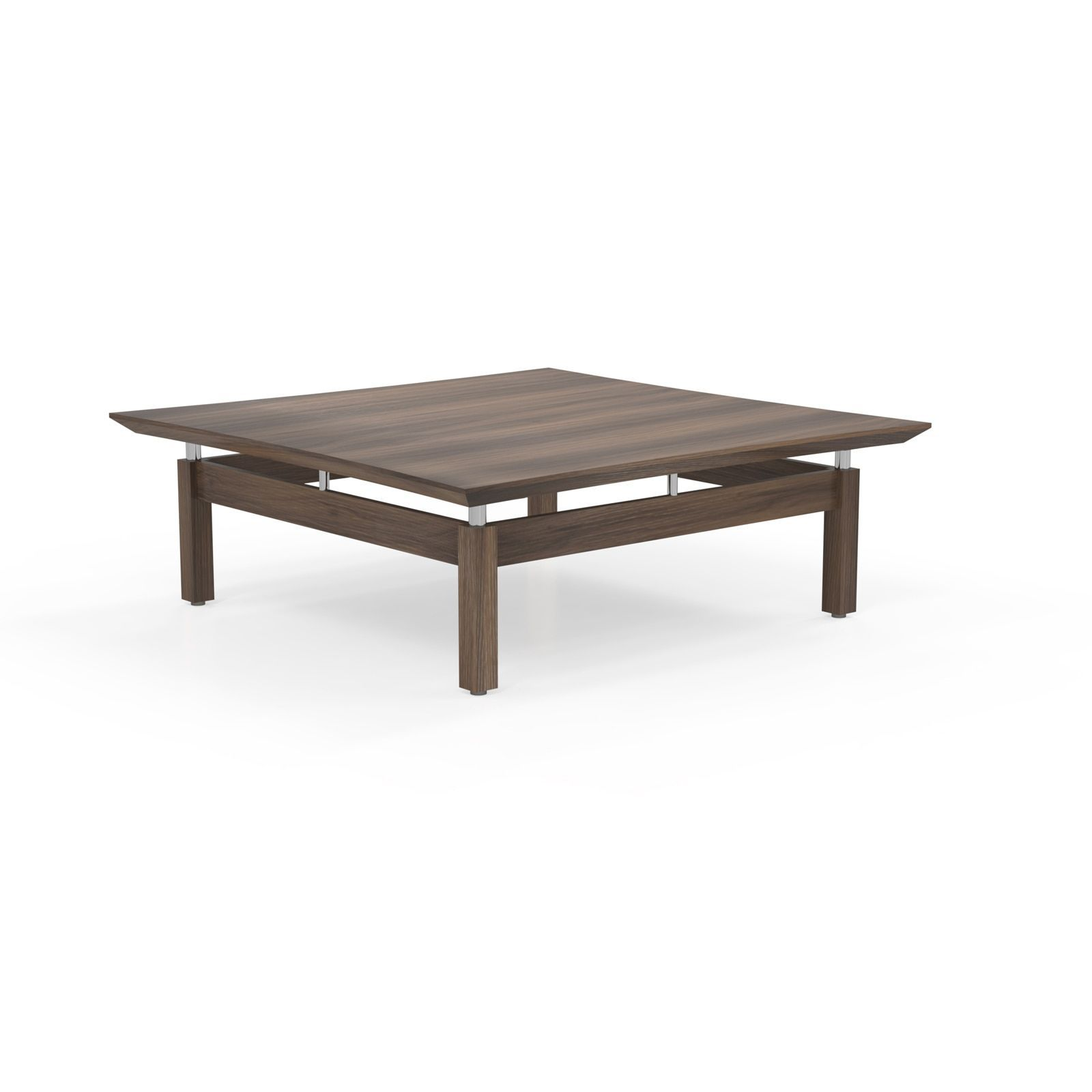 Mayline Sterling Series 48 inch Square Coffee Table