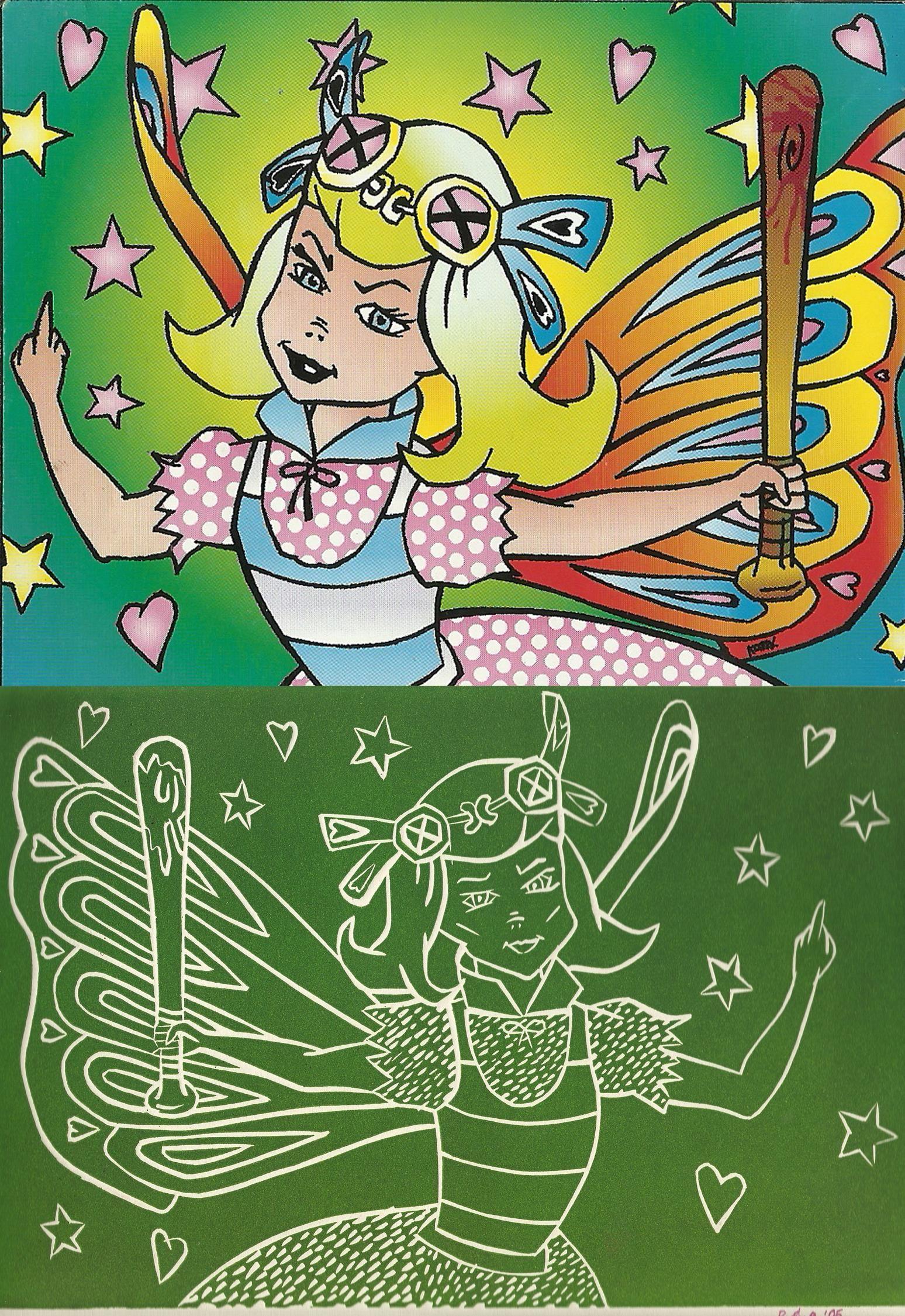 linoleum, graphic di AMERICANA, Offspring