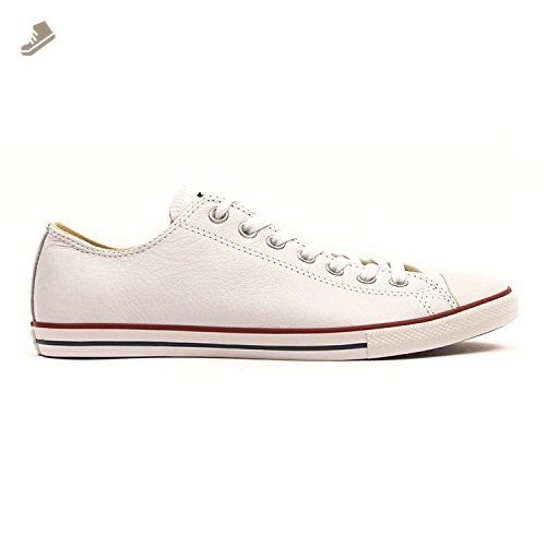 Converse Ct All Star Lean Ox White Mens Trainers Size 7 Uk