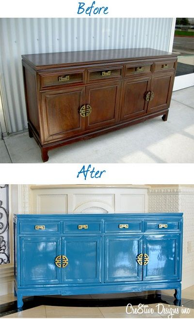 Laquer furniture Chinese Credenza Makeover From Pinterest Credenza Makeover From