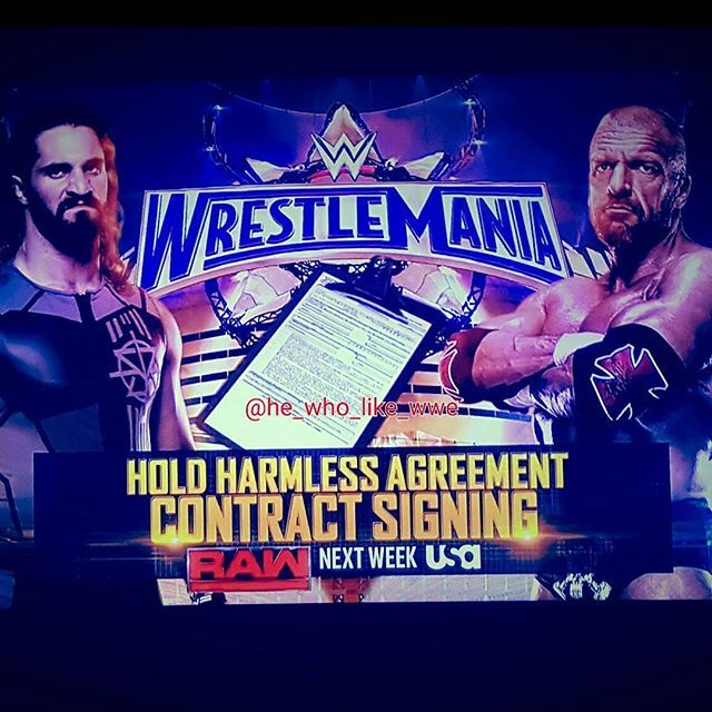 Hold Harmless Agreement Contract Signing 👍👍👍👍👍👍👍👍👍👍 #wwe - hold harmless agreements