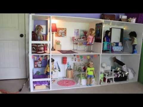 4happyhippos Dollhouse Tour 2016 Youtube Doll House Doll