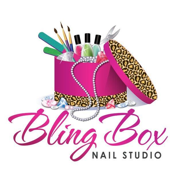 My awesome new salon logo!   Logos de uñas, Uñas manos y ...