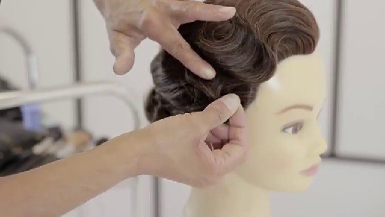 Finger Wave Tutorial Youtube Finger Wave Hair Finger Waves Tutorial Vintage Hairstyles Tutorial