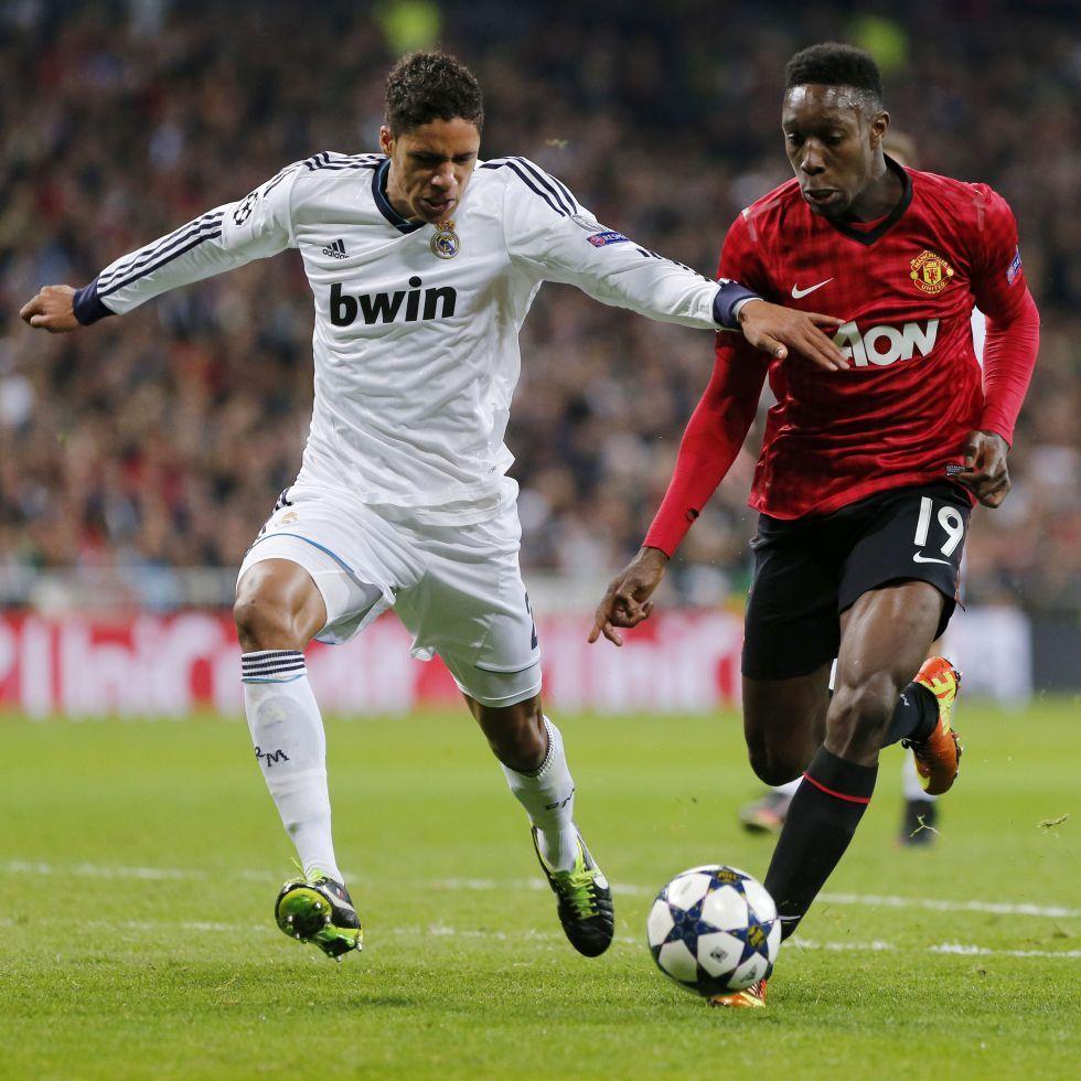 Rapha l Varane vs Dany Welbeck Real Madrid vs Manchester United