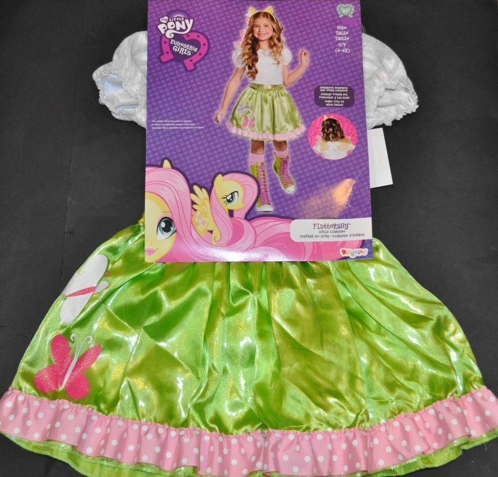 Pony Costume Ideas My Little Pony Equestria Girls Fluttershy Costume Size Small 4 6x