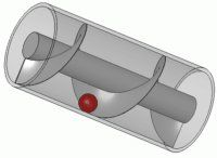 Archimedes Screw 3d