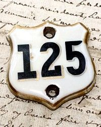 antique french hotel room number