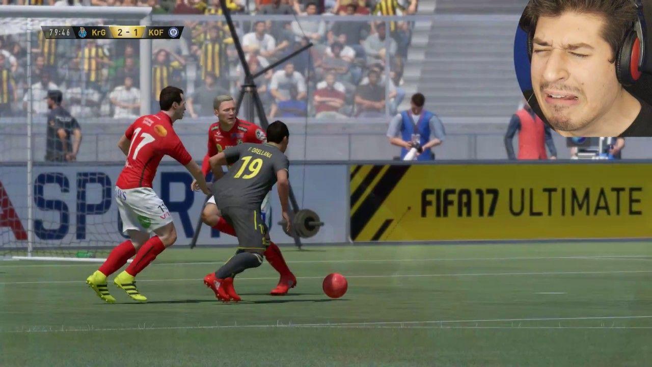 """""""NAJLUĐA UTAKMICA PUNA RAGEEEEAAA!!!"""" FIFA 17 (ULTIMATE"""