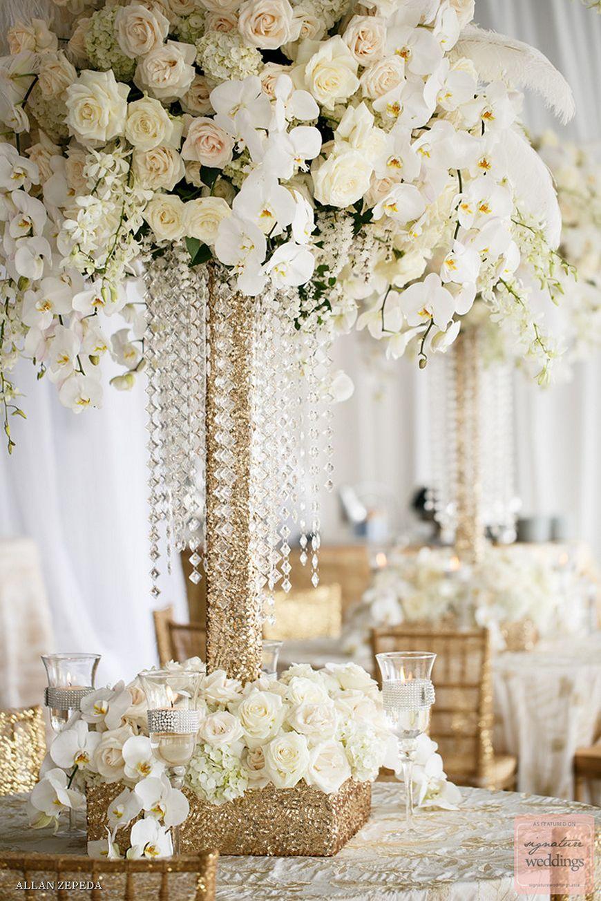 Wedding Ideas by Colour: Cream Wedding Flowers - Orchids | CHWV ...