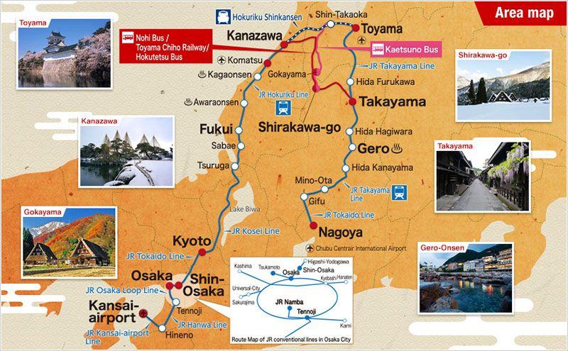 Los Alpes Japoneses: Itinerario de 4 días   Viajes   Pinterest