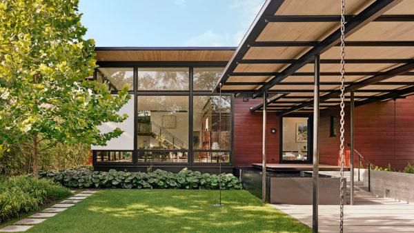 Bellaire Porch House OJB Landscape Architecture in 2020