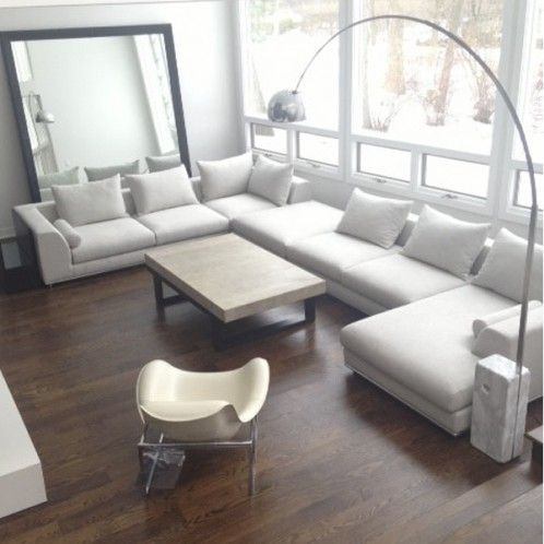 MERCER SECTIONAL - TAUPE (LEFT)