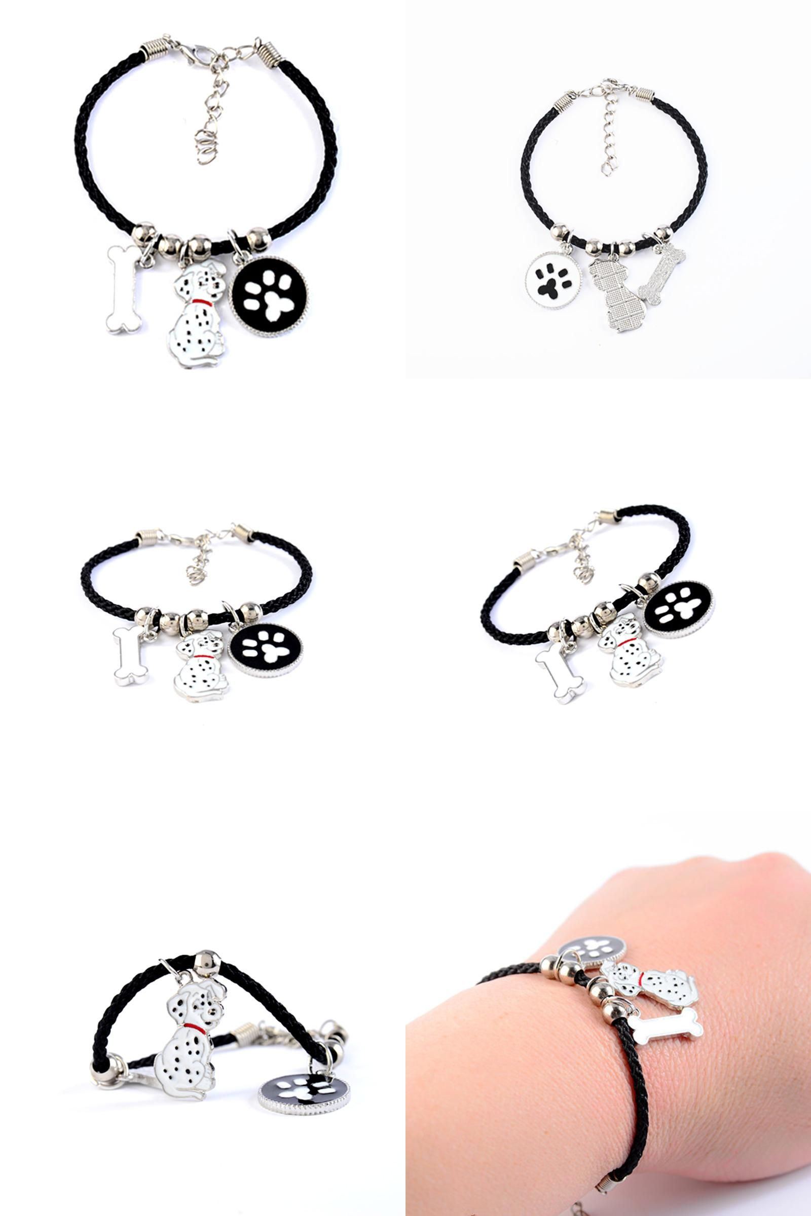 Visit to buy fashion dalmatian charm bracelets amp bangles for