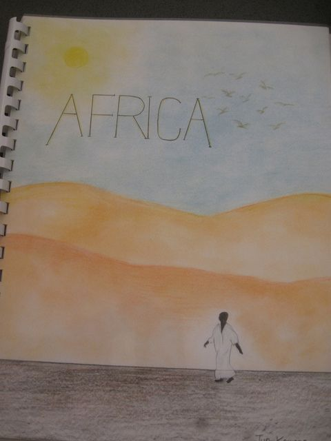 Waldorf 7th grade geography africa title page age 13 waldorf 7th grade geography africa title page sciox Images