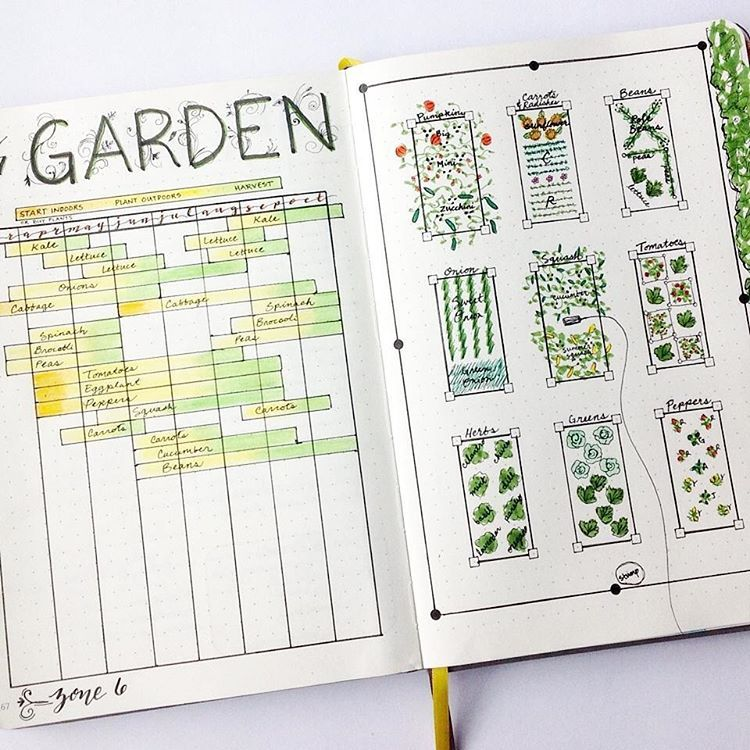 Throwback Thursday to this awesome gardening layout by ...