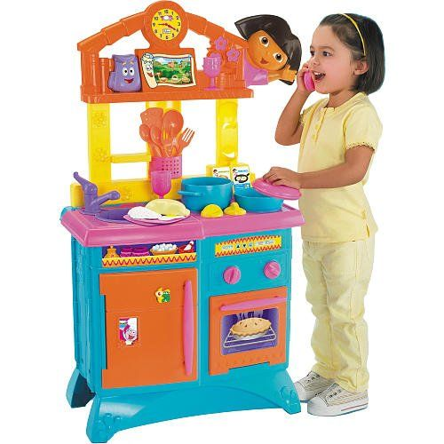 727b434cb Fisher-Price Dora the Explorer Folding Kitchen -- This is an Amazon  Affiliate link. Want additional info  Click on the image.