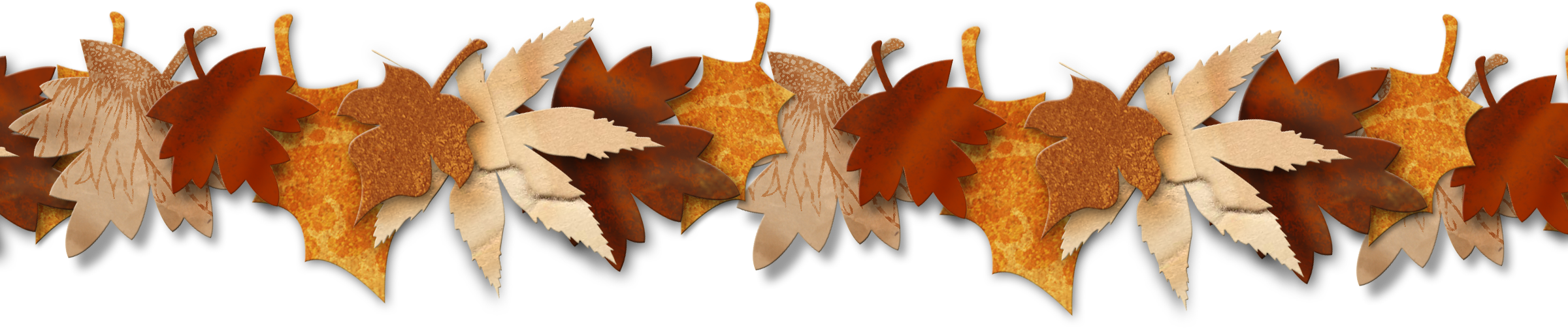 Autumn Leaf Border | Clip Art Season's | Kitchen wallpaper ...
