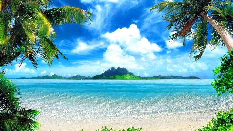 Nice Nature Desktop Background Hd 1920x1080 Beach Backdrop Beach Wallpaper Beach Background
