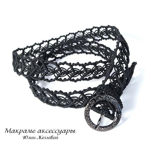 Makrame Shop by Yulia Zheglova. Lots of lovely things (belts, bags, jewellery etc.)