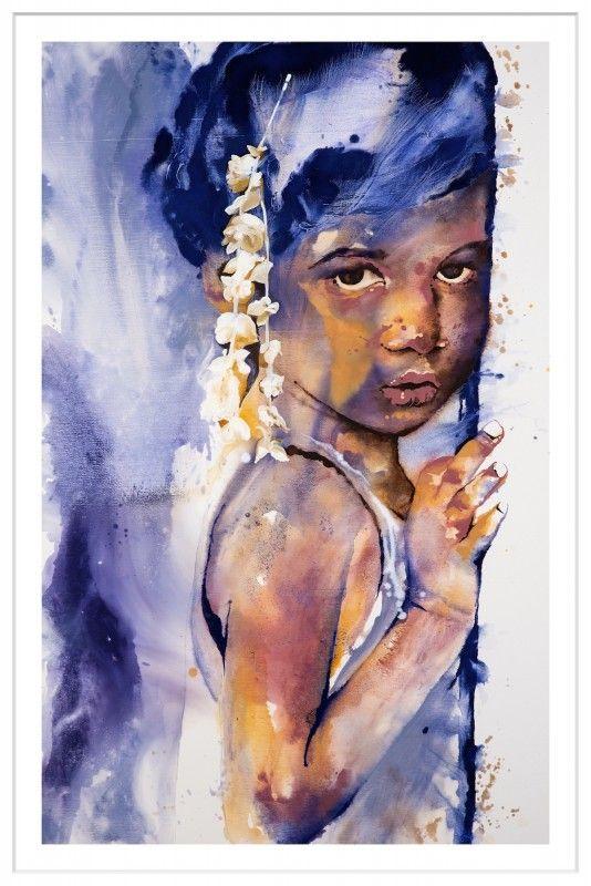 """Sindhu"" by Johanna Wilbraham | Framed Art PrintThe Block Shop - Channel 9"