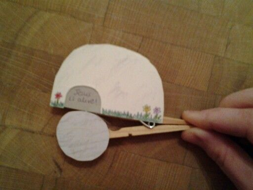 Easter craft - Jesus is risen! | Awesome | Easter, Easter ...
