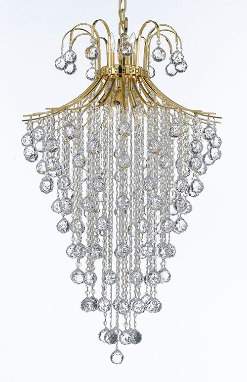 G93 B12 Cg 876 9 Gallery Empire Style French Crystal Chandelier Chandeliers Lighting H40 X W24