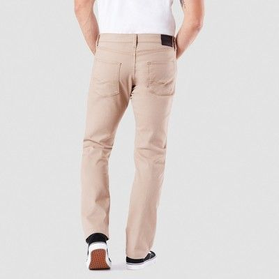 08225663 Denizen from Levi's Men's 232 Slim Straight Fit Jeans - Suburban Khaki  31x30, Beige