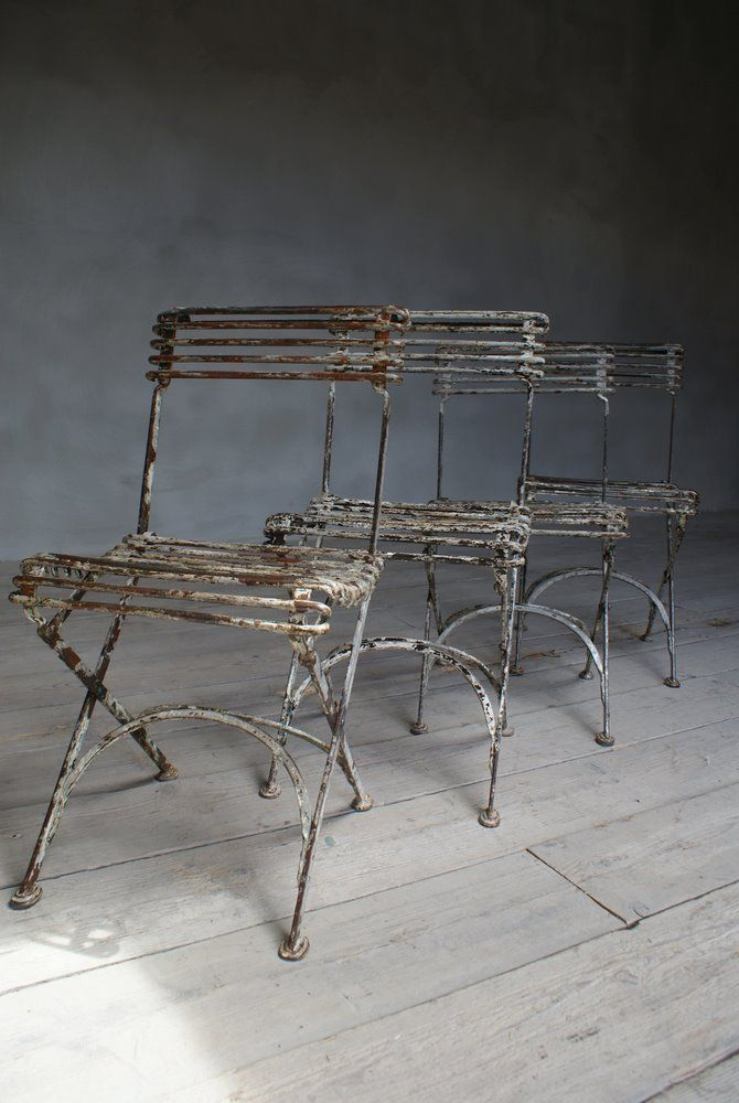 Nice Set Of Four Arras Garden Chairs