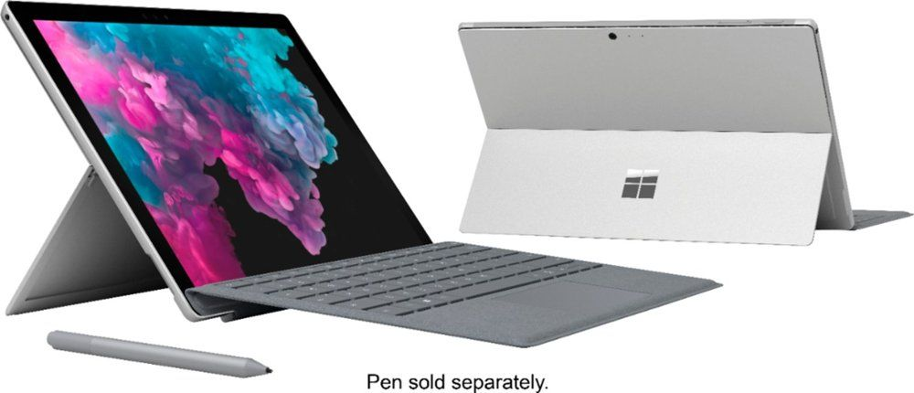 Microsoft Surface Pro 6 Laptop Windows 10 8th Gen Core I7 036 Nbsp 2 087 00 Ndash 036 Nbsp 3 07 Microsoft Surface Pro Microsoft Surface New Surface Pro