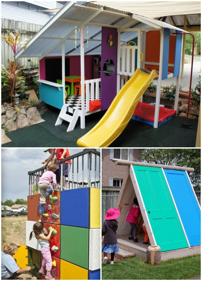 Perfect 24 Outdoor Playhouses Kids Dream About