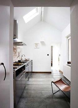 Semi open keuken #interieur