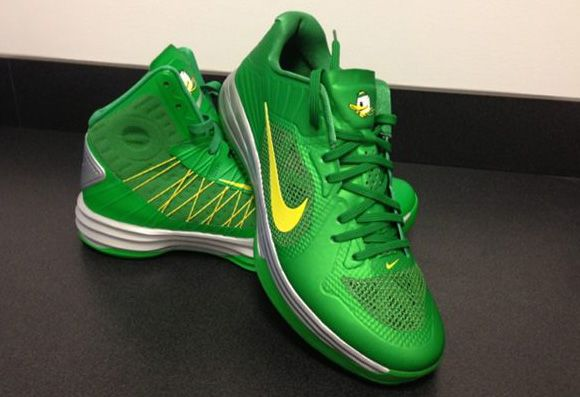 Nike 'Oregon Ducks' Lunar Hypergamer Low & Lunar Hyperdunk