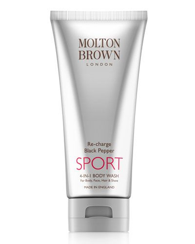 C23DR Molton Brown Re-charge Black Pepper Sport 4-in-1 Body Wash, 6.6 oz.