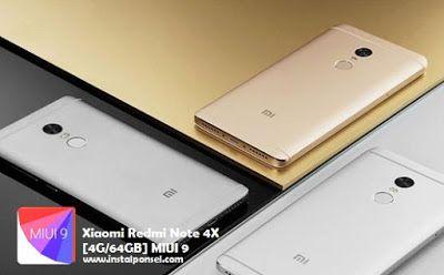 Cara Update MIUI 9 Xiaomi Redmi Note 4X Global Stable Ram 4GB Storage 64 GB