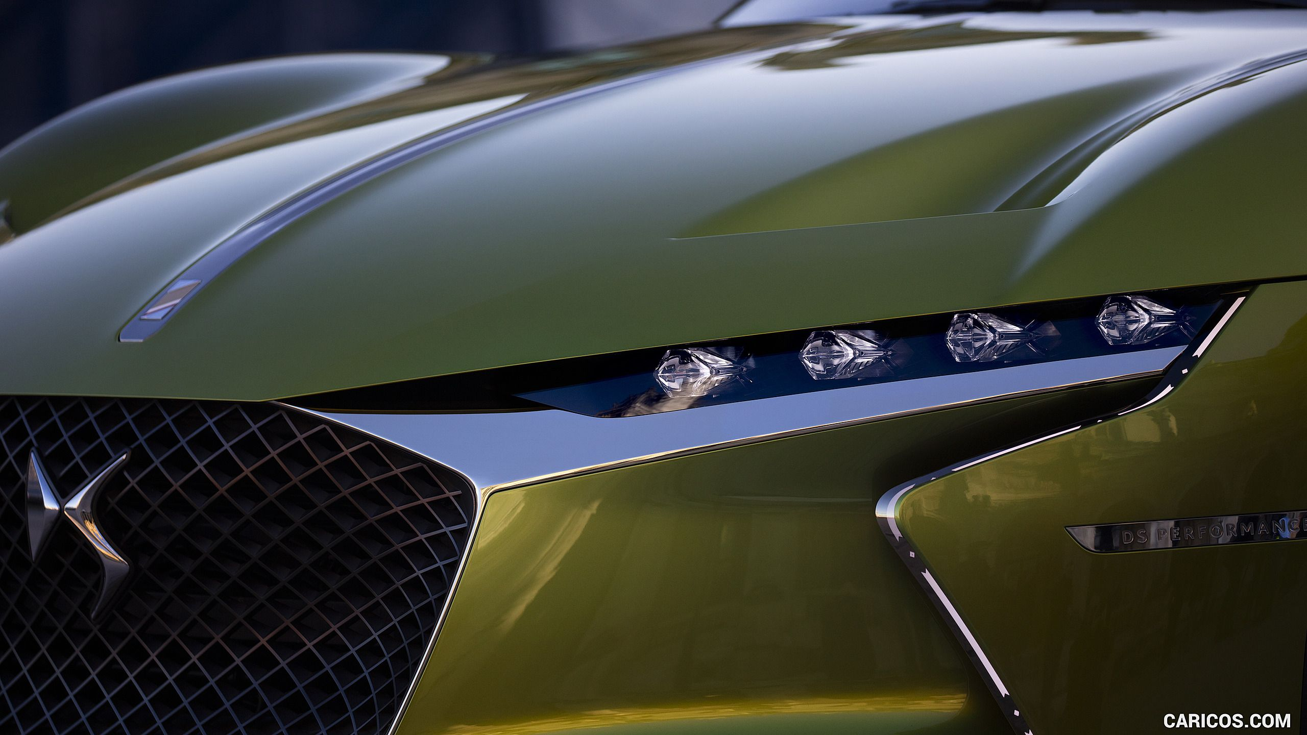 2016 DS E-TENSE Concept - Headlight HD