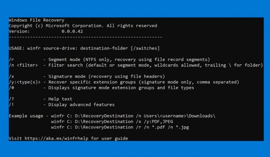 مايكروسوفت تطلق برنامج Windows File Recovery لاسترداد الملفات المحذوفة Microsoft Corporation Download App App