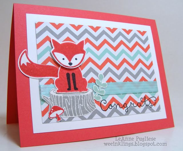 wee inklings: Foxy Catalog CASE | congrats
