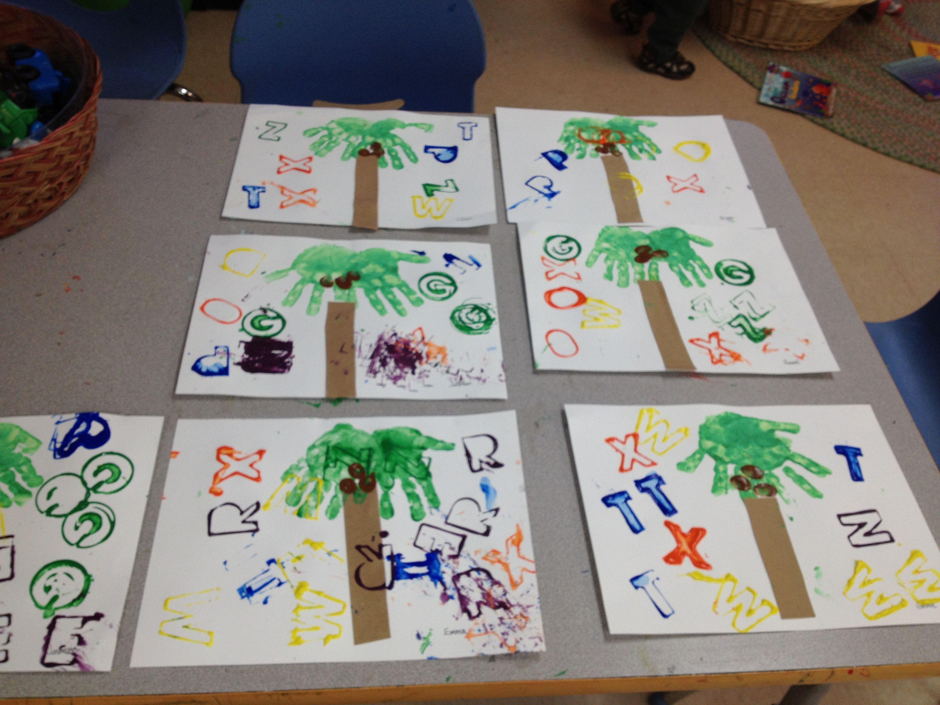 Preschool Alphabet Art Projects
