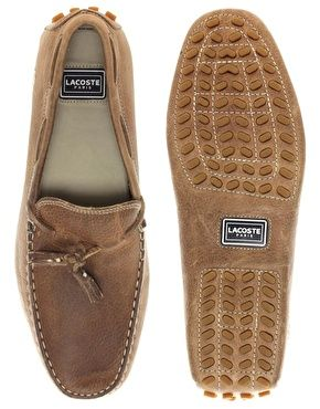 Lacoste Concours Tassle Leather Driving Shoes £120.00 NOW £84.00  Driving shoes by Lacoste. Via www.zoolz.com. To purchase : http://bit.ly/GQdaEs