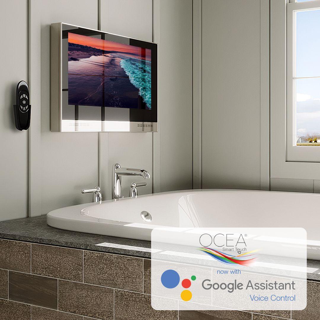 Ocea Bathroom Tv Tv In Bathroom Bathroom Model Smart Bathroom [ 1080 x 1080 Pixel ]