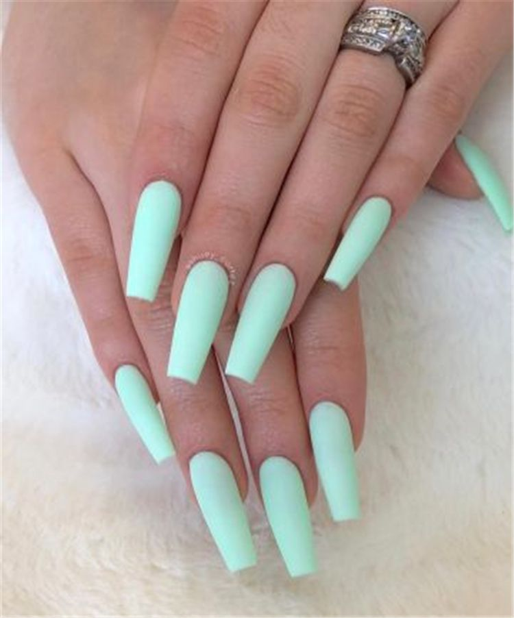 Trendy And Bright Summer Nail Colors You Must Try This Summer Bright Summer Nail Colors Bright Nail Colors Summer Summer Acrylic Nails Swag Nails Hot Nails