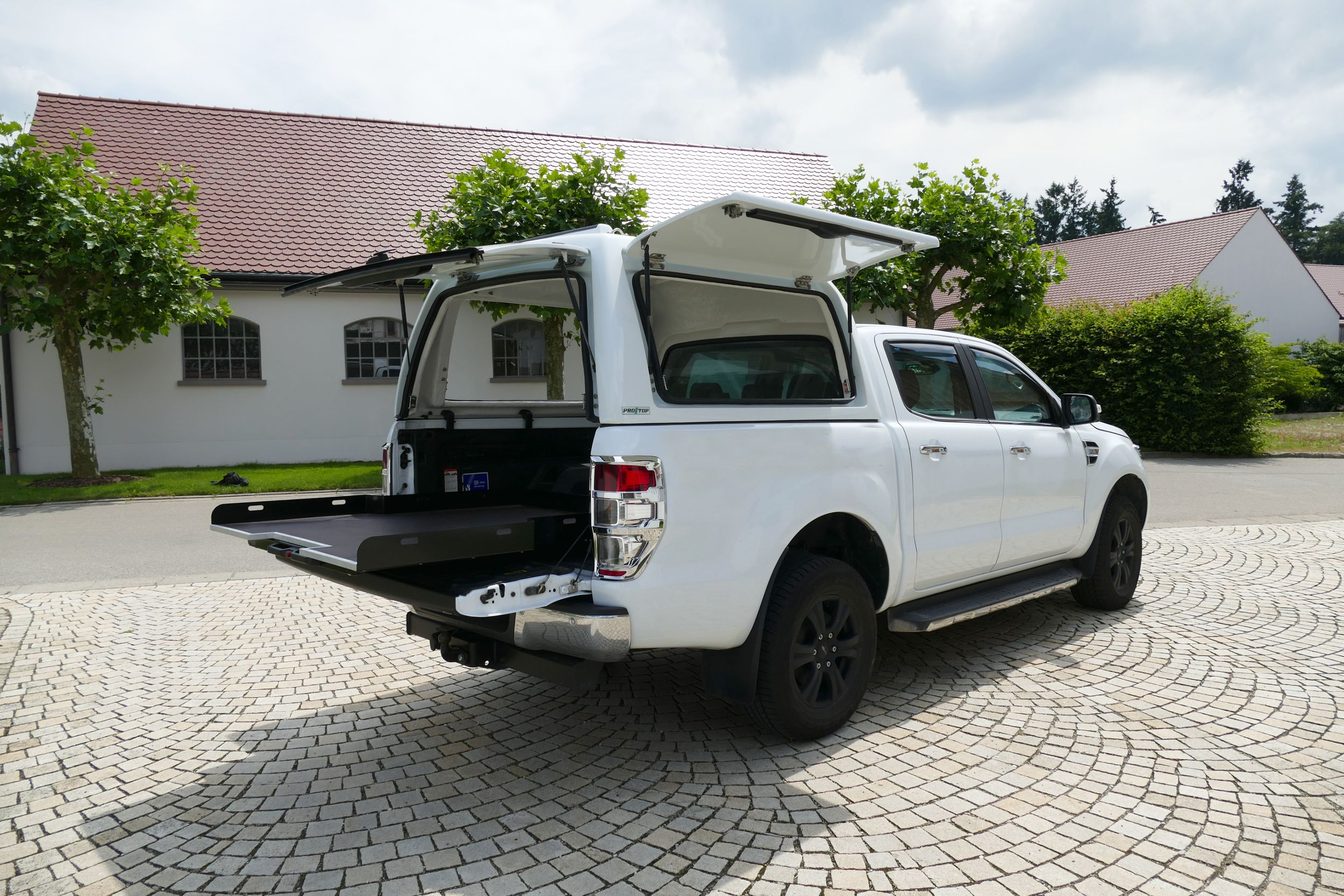 Ladeflachenauszug Heavy Duty Ford Ranger Dc Pickup Zubehor Ford